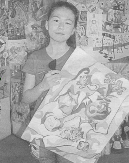 Выставка «Дети рисуют мир. Казахстан»